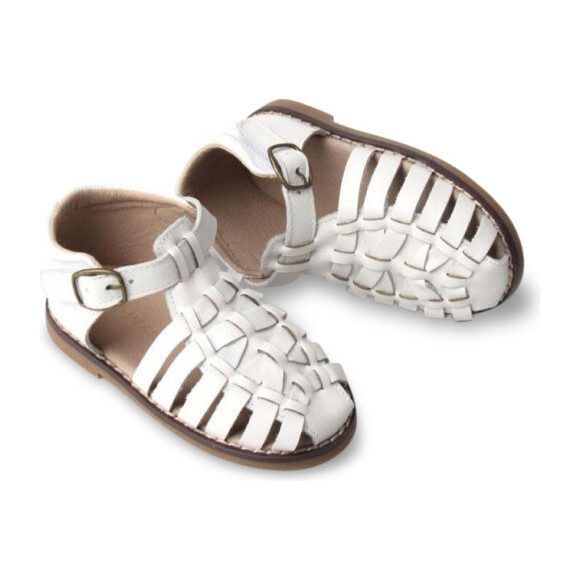 Leather Indie Sandal, Cotton