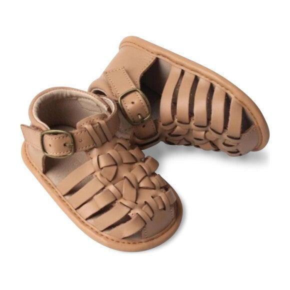 Leather Indie Sandal, Tan