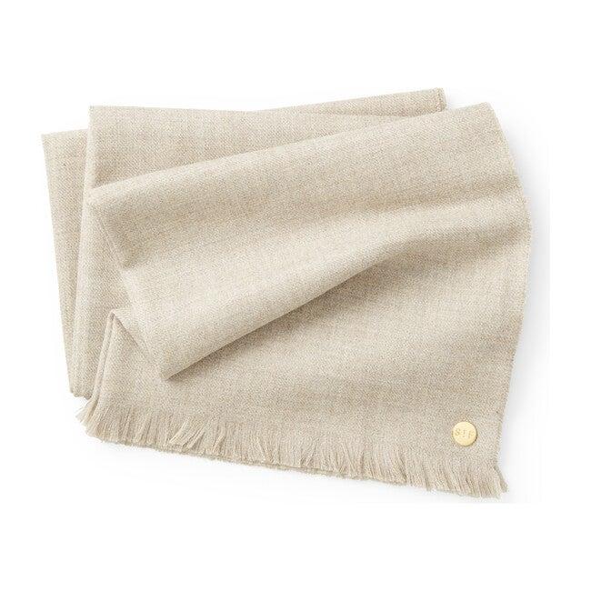 Baby Alpaca Throw Blanket, Oatmeal