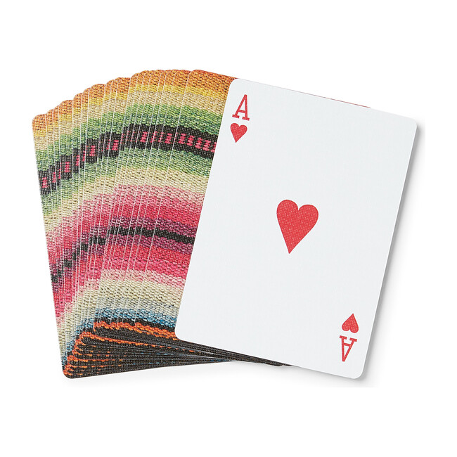 Technicolor Frazada Playing Cards, Multi