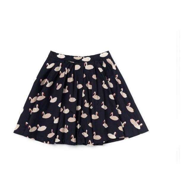 Twirly Skirt, Swan Print