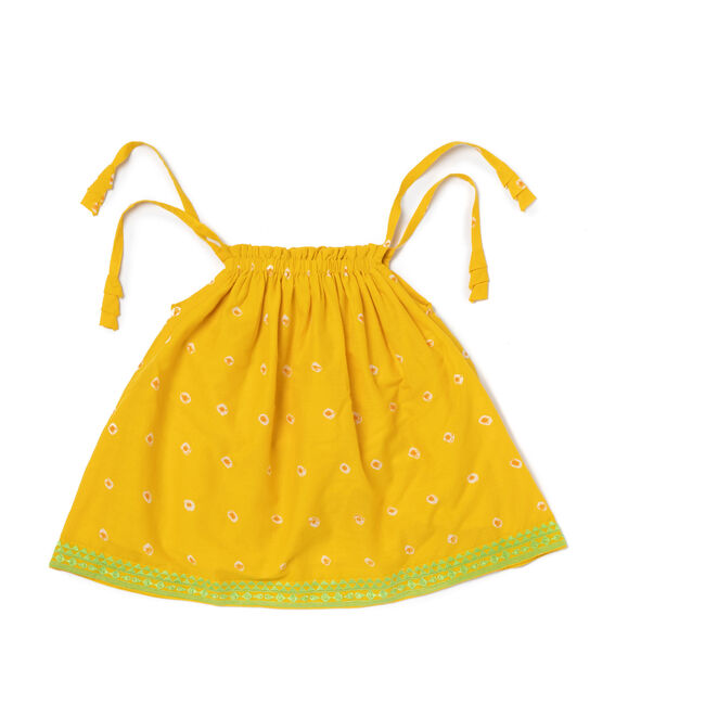 Natasha Dress, Yellow