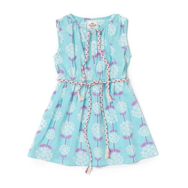 Ana Dress, Sky Blue