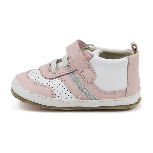 Everyday Eliza Sneaker, White & Pink
