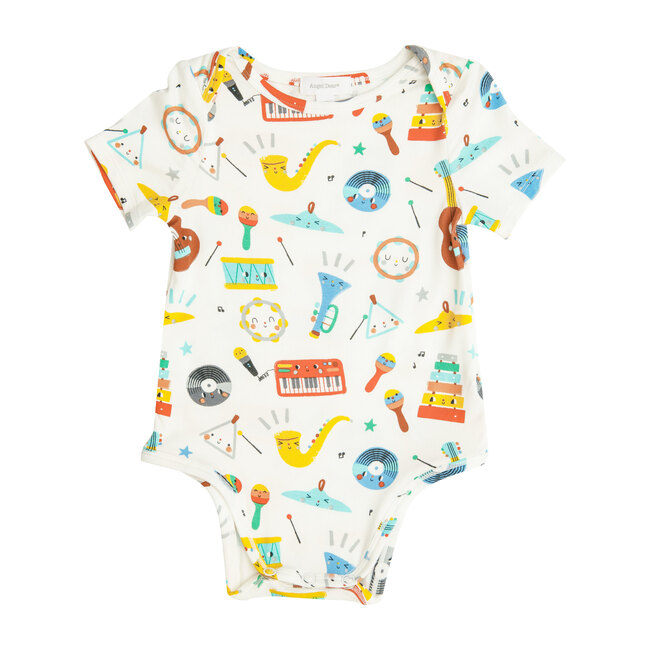Happy Music Bodysuit, Multi