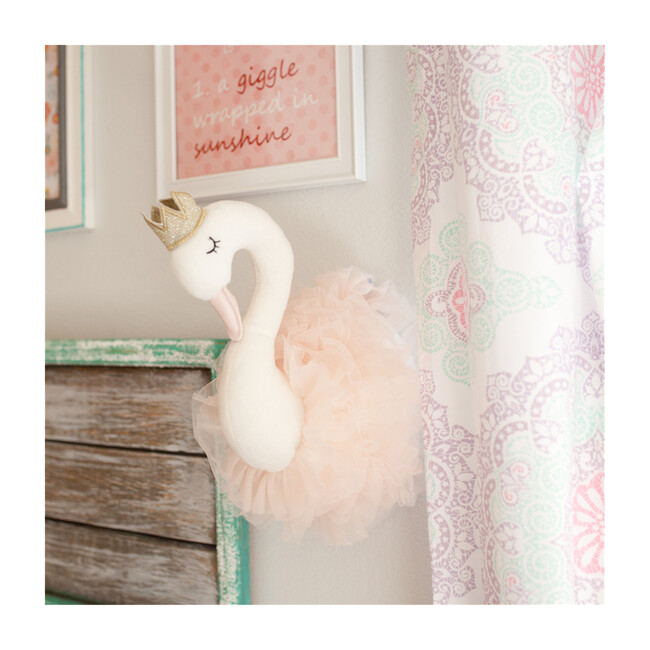 Swan Princess Wall Mount