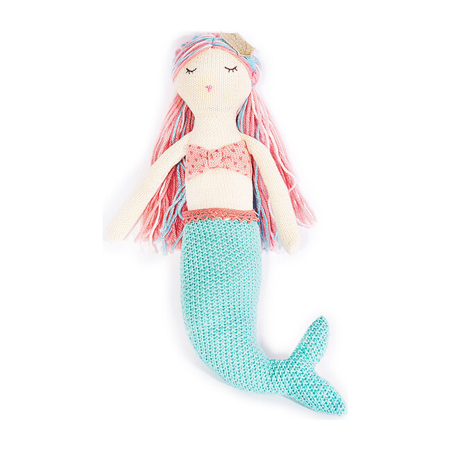 Mia Knit Mermaid Plush - Plush - 1