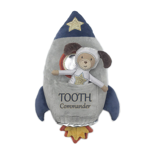 Spaceship Commander Tooth Pillow