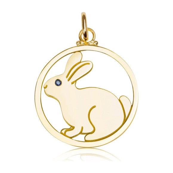 Medium Pendant, Bunny