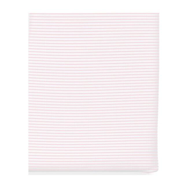 Crib Sheet, Pink Stripes