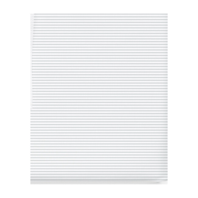 Crib Sheet, Grey Stripes