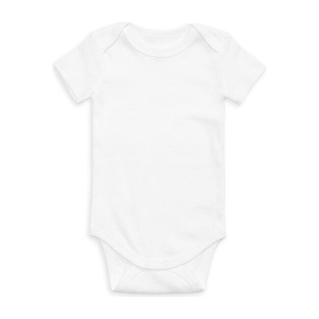 Organic Short Sleeve Onesie, White
