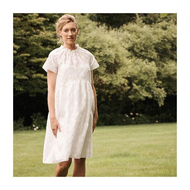 Drop Waist Maternity Dress