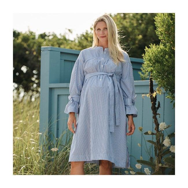 Yoked Maternity Shirtdress
