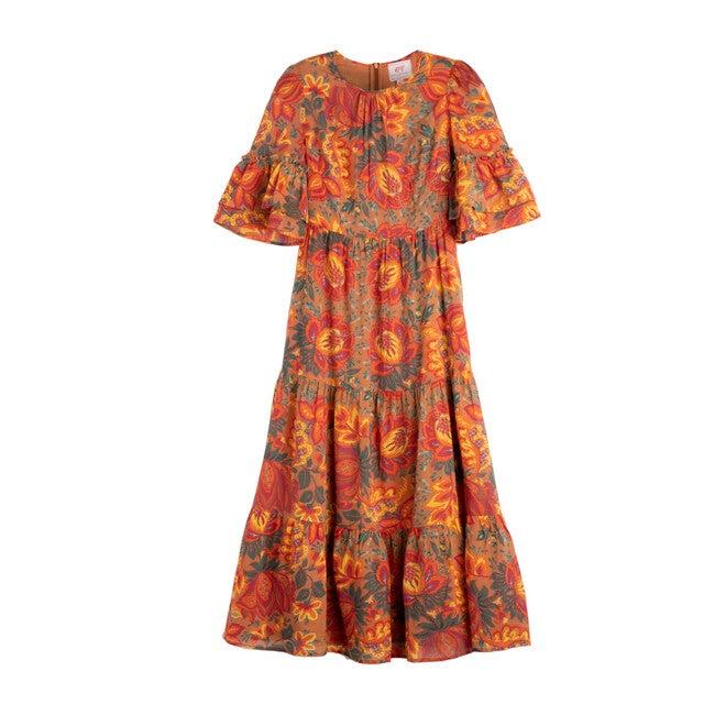 Women's Faith Dress, Meadow Sweet Caramel