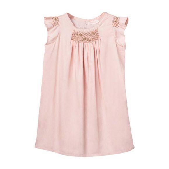 Hana Smocked Dress - Blush