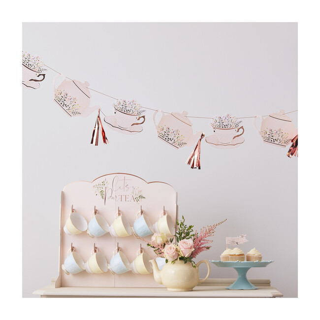Teapot And Tassel Bunting