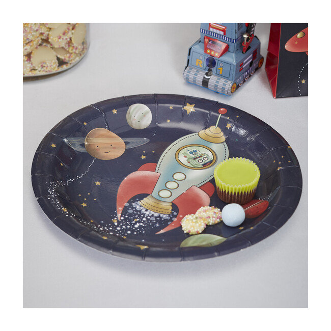 Paper Plates, Space