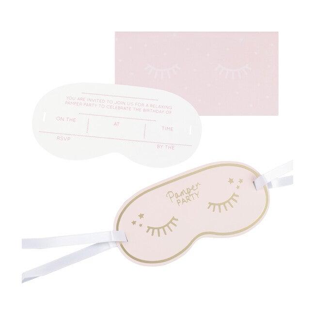 Eye Mask Invitations