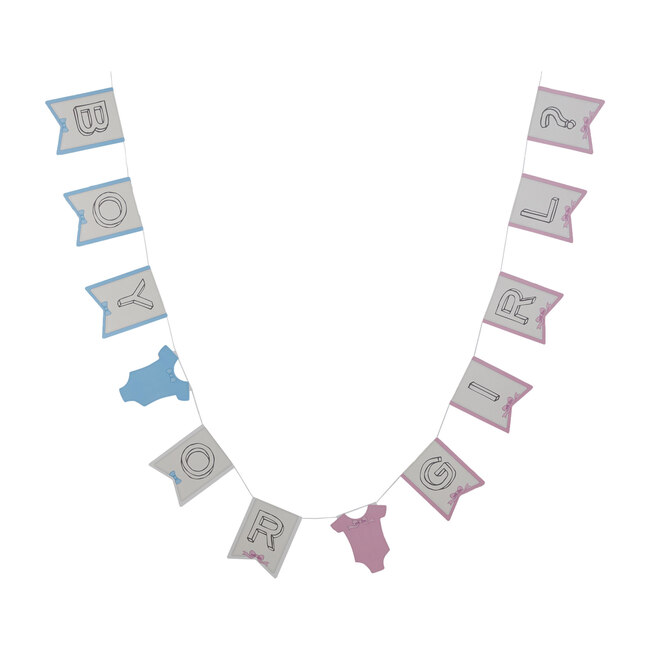 Boy Or Girl Flags Bunting