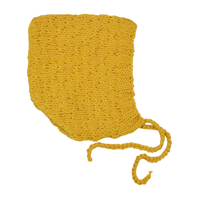 Honeycomb Bonnet, Mustard