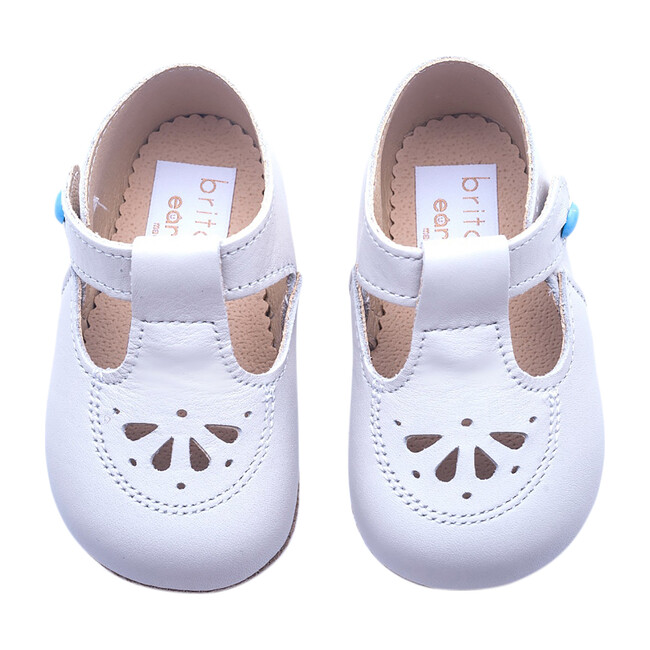 Robin British Pre-Walker Baby Shoe - Classic Ivory