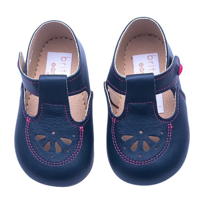 Robin British Pre-Walker Baby Shoe - Serpentine Blue