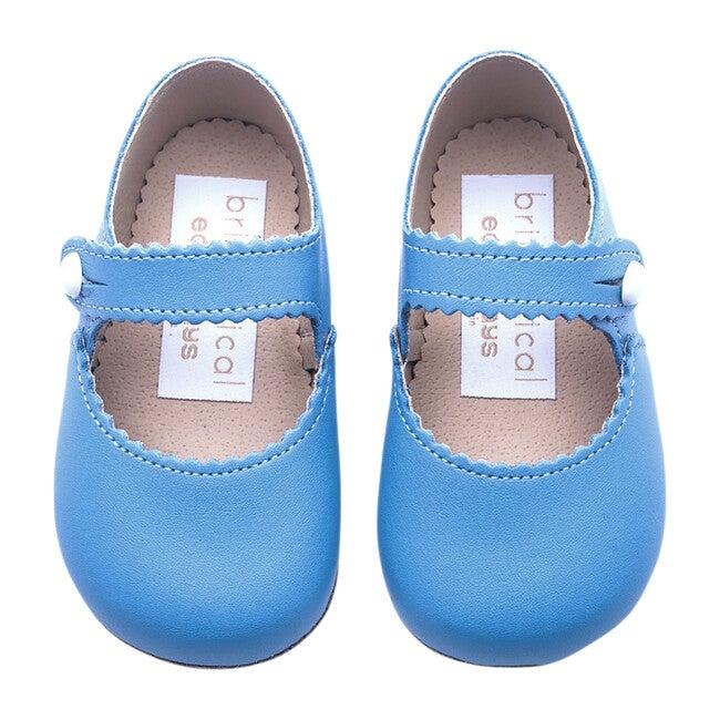Emma British Pre-Walker Baby Girl Shoe - Porcelain Blue