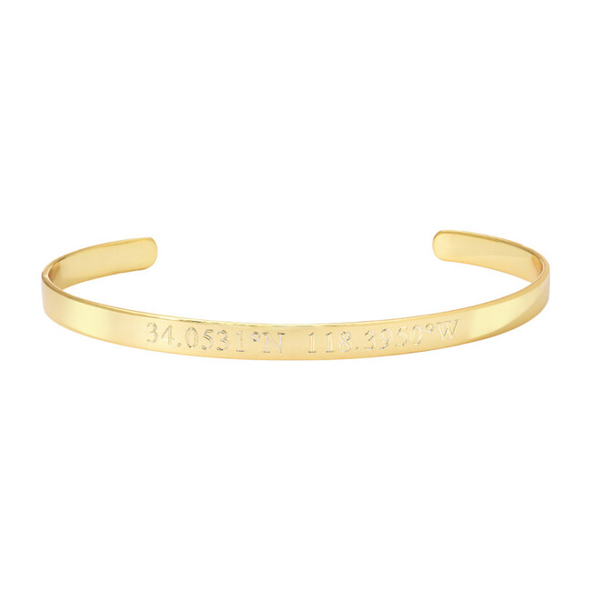 Engravable Cuff Bracelet