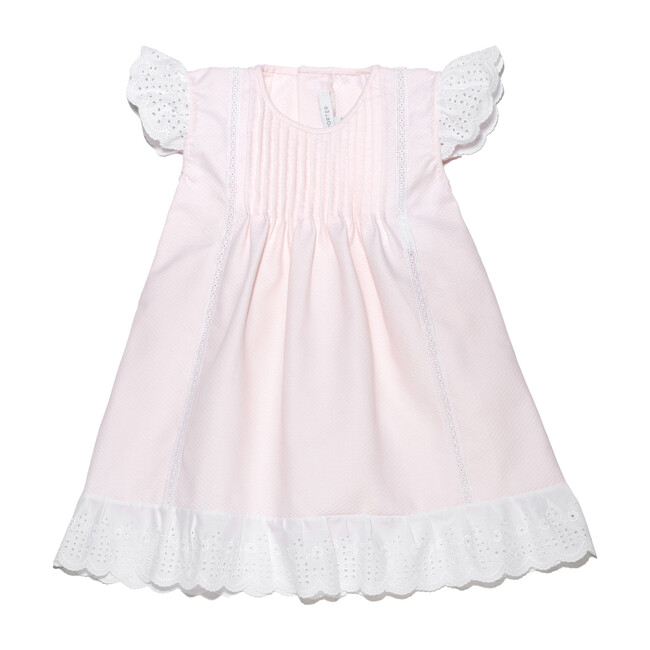 Sabrina Dress, Pink Piqué