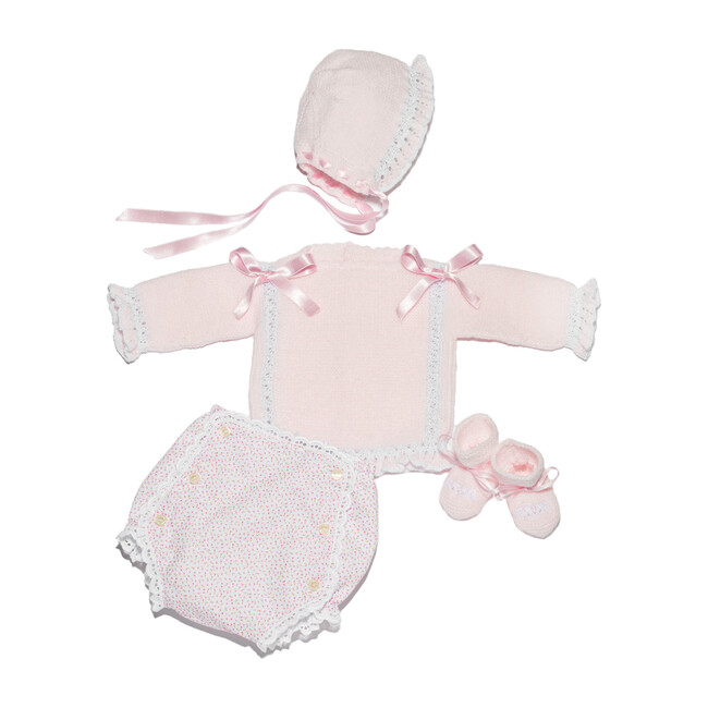 Newborn Girl Gift Set, Pink