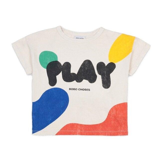 Play Landscape T-Shirt, White