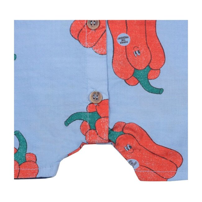Pepper Print Bodysuit, Blue