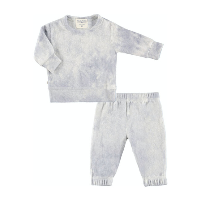 Baby Tie Dye Loungewear Set, Crystal