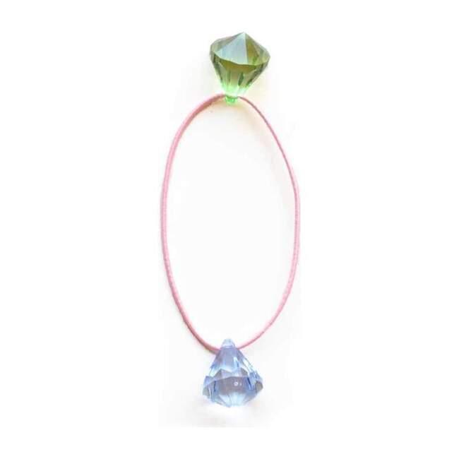 Candy Gem Hair Tie, Pink