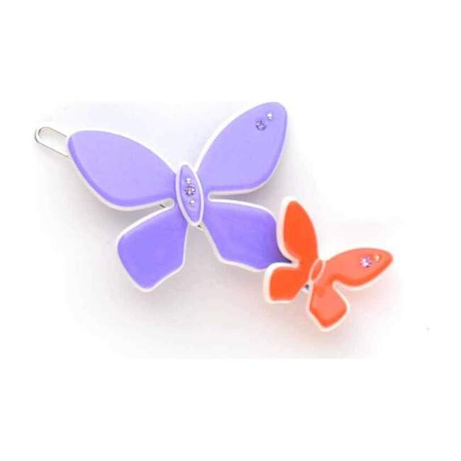 Acrylic Butterfly Clip, Lavender