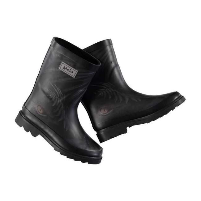 Jungle Eyes Wellies, Black - Rain Boots - 1