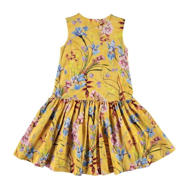 Candece Floral Dress, Yellow