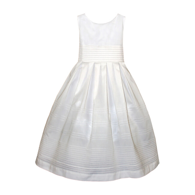 Forever Dress, White Cotton