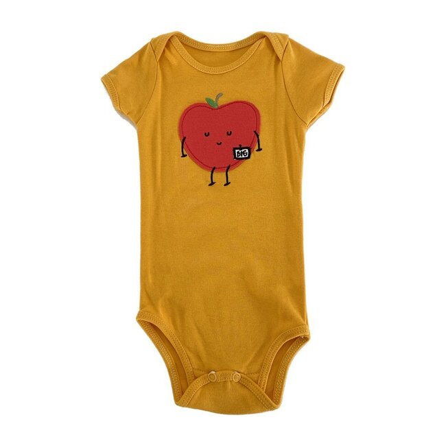 Big Apple Bodysuit, Yellow
