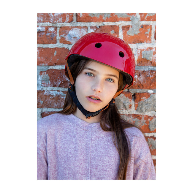 Lil' Helmet, Candy Apple Red