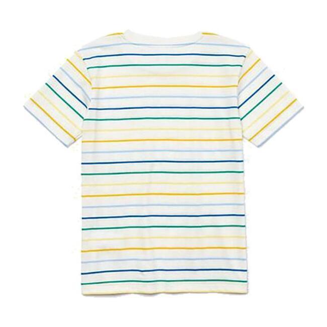 Multi-Striped T-Shirt, Beige