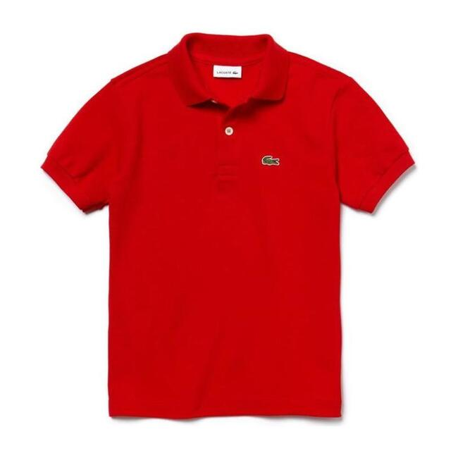 Iconic Logo Polo, Red