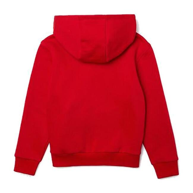 Hooded Logo Sweatshirt, Red