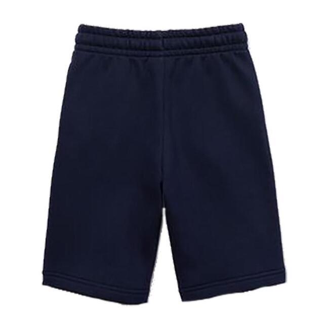 Fleece Logo Shorts, Navy