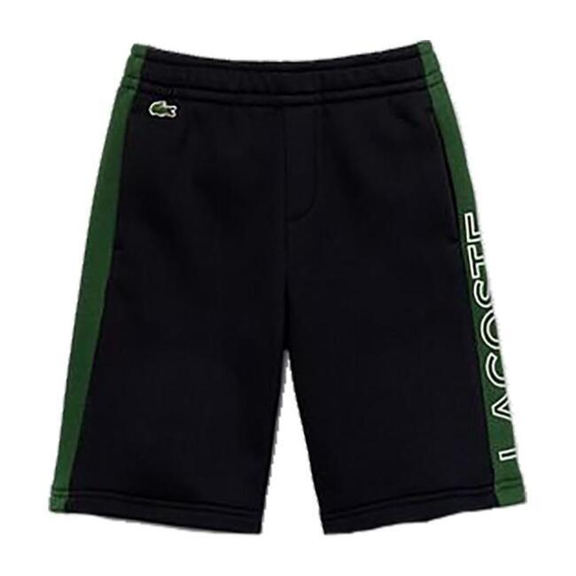 Colorblock Logo Shorts, Green