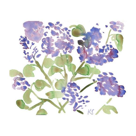 """Lilacs 3, 13"""" x 10.5"""""""