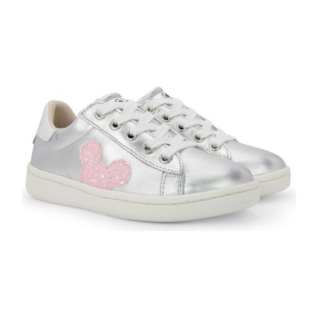 Mickey Pailette Shoes, Silver