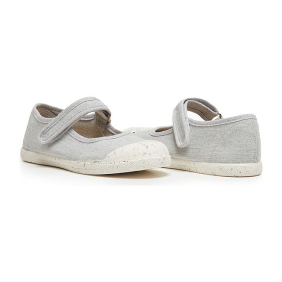 Mary Jane Sneakers, Grey