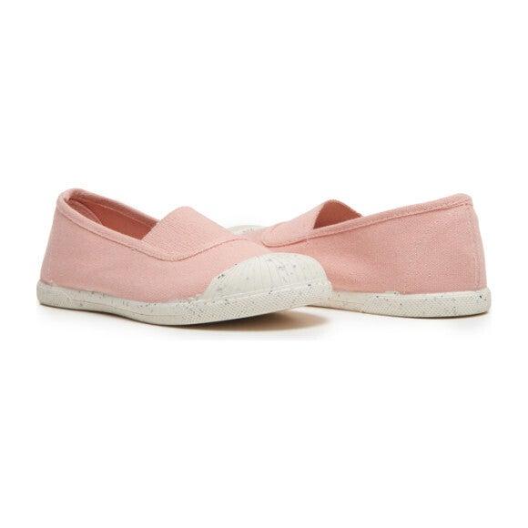 Elastic Slip-On Sneaker, Peach